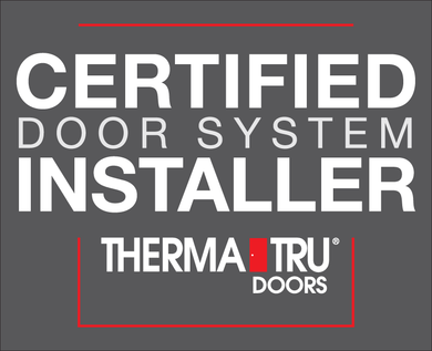 Certified Door System Installer Vehicle Decal