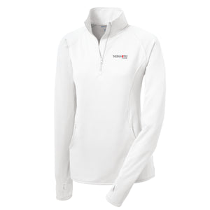 Sport-Tek Ladies Stretch 1/2-Zip Pullover