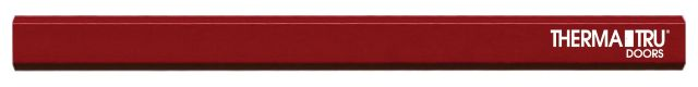 Carpenter Flat Medium Lead Red Pencil