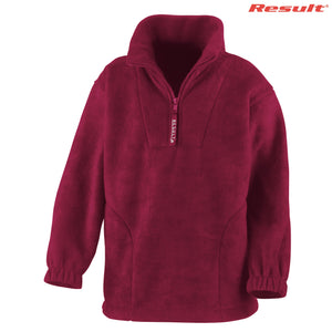 R033B Result Youth Polartherm Qtr. Zip Top