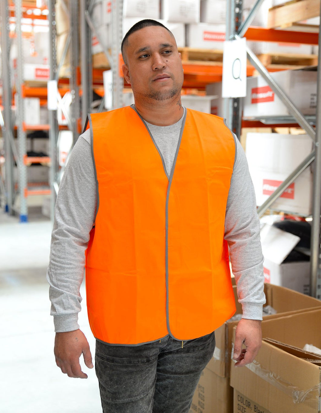 R200X Hi Visibility Safety Vest Day Wear Only