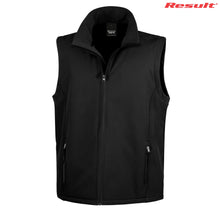 Load image into Gallery viewer, R232M Result Adult Printable Softshell Vest