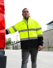 Load image into Gallery viewer, R450X Hi Visibility Printable Softshell Jacket