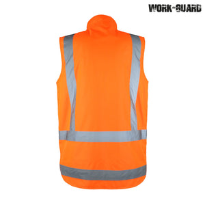 R461X Reversible Fleece Lined Safety Vest – Day/Night