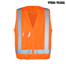 Load image into Gallery viewer, R462X Hi Visibility Safety Vest Day/Night (TTMC Orange Only)