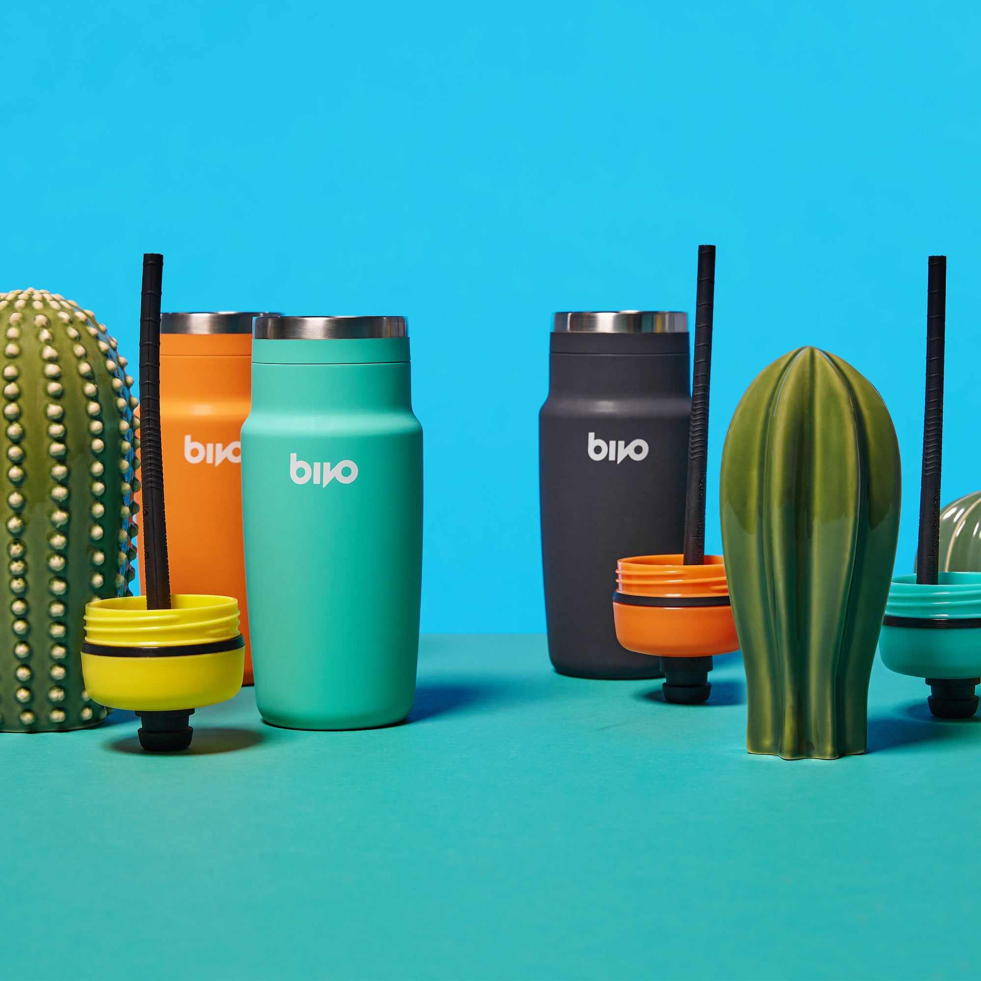 Bivo One stainless steel water bottles are carbon neutral and built to last.