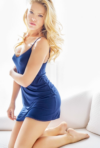 Blue Addiction Lingerie chemise