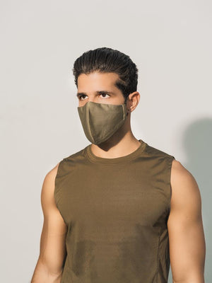 Military Green Civilian Mask