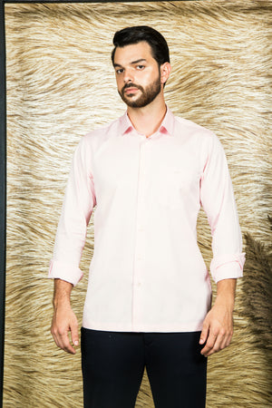 Light Pink TULIP monogram Shirt-JC Lagares official website | JCL.