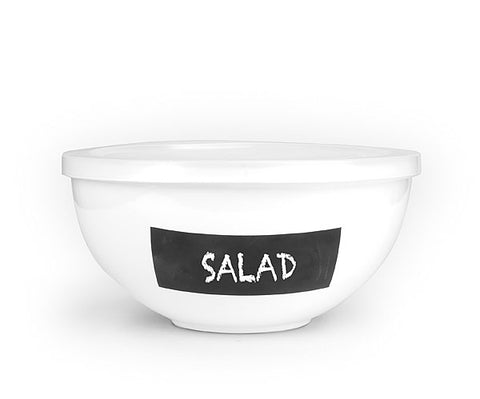 ASA Selection Memo Chalk Salad Bowl Large