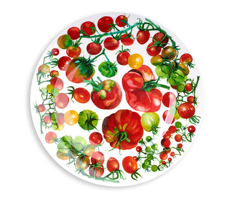 Vegetable Garden Picnic Plate