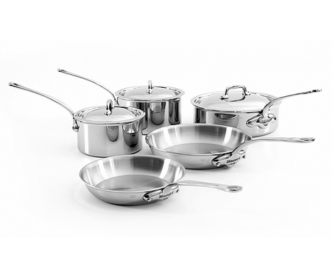 M'Cook 8 Piece Stainless Cookware Set