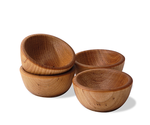 Wooden Nut Cup