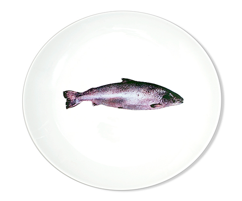 Saumon (Salmon) Dinner Plate