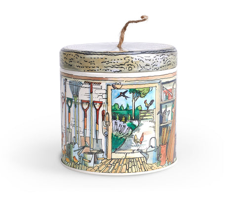Potting Shed String Tin