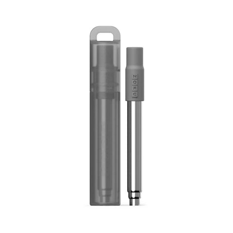 Zoku Charcoal Pocket Straw