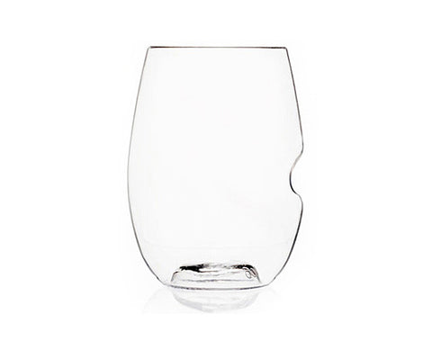 GoVino Stemless Shatterproof Cocktail/Wine Glasses / 4-Pack Tote
