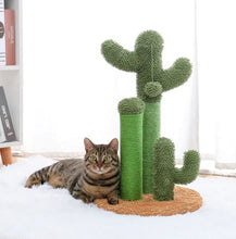 Load image into Gallery viewer, cactus cat scratcher, Cactus Cat Scratching Post