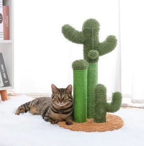 cactus cat scratcher, Cactus Cat Scratching Post