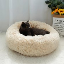 Load image into Gallery viewer, Marshmallow cat bed, fluffy cat bed