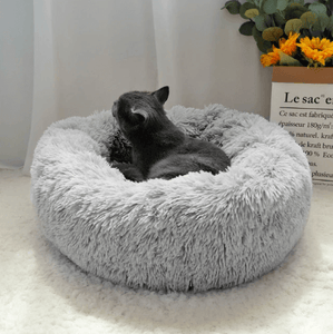 Marshmallow cat bed, fluffy cat bed