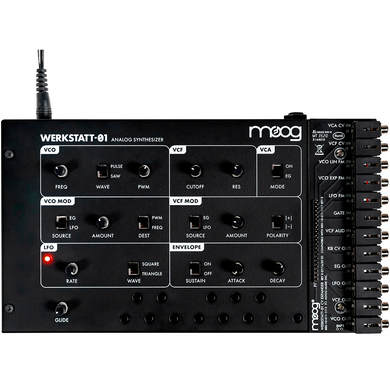 Moog Werkstatt-01 Analog Synth Kit and CV Expander