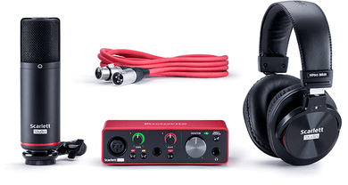 Focusrite Scarlett Solo Studio Bundle