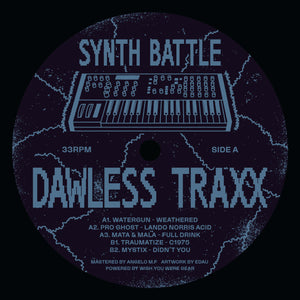SYNTH BATTLE VINYL COMPILATION