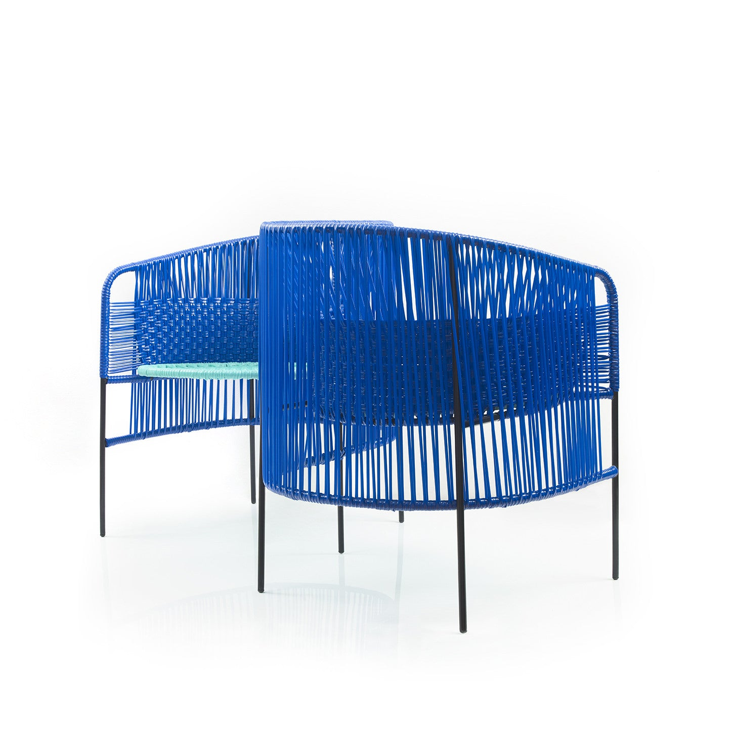 Ames Caribe Double Chair