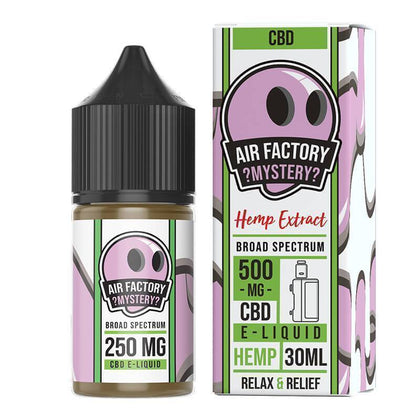 Air Factory CBD - CBD Vape Juice - Mystery - 250mg-500mg-buy-CBD-online