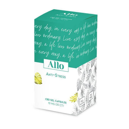 ALLO CBD - CBD Soft Gel - Anti-Stress Capsule - 10mg-buy-CBD-online