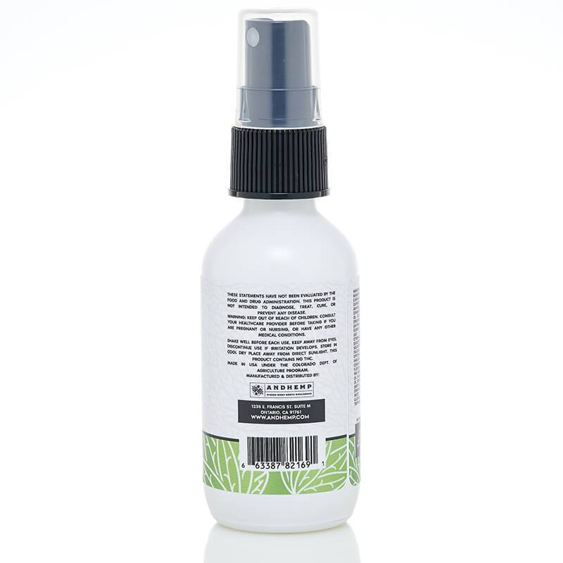 AndHemp - CBD Oil Pain Spray - Relief - 300mg-500mg