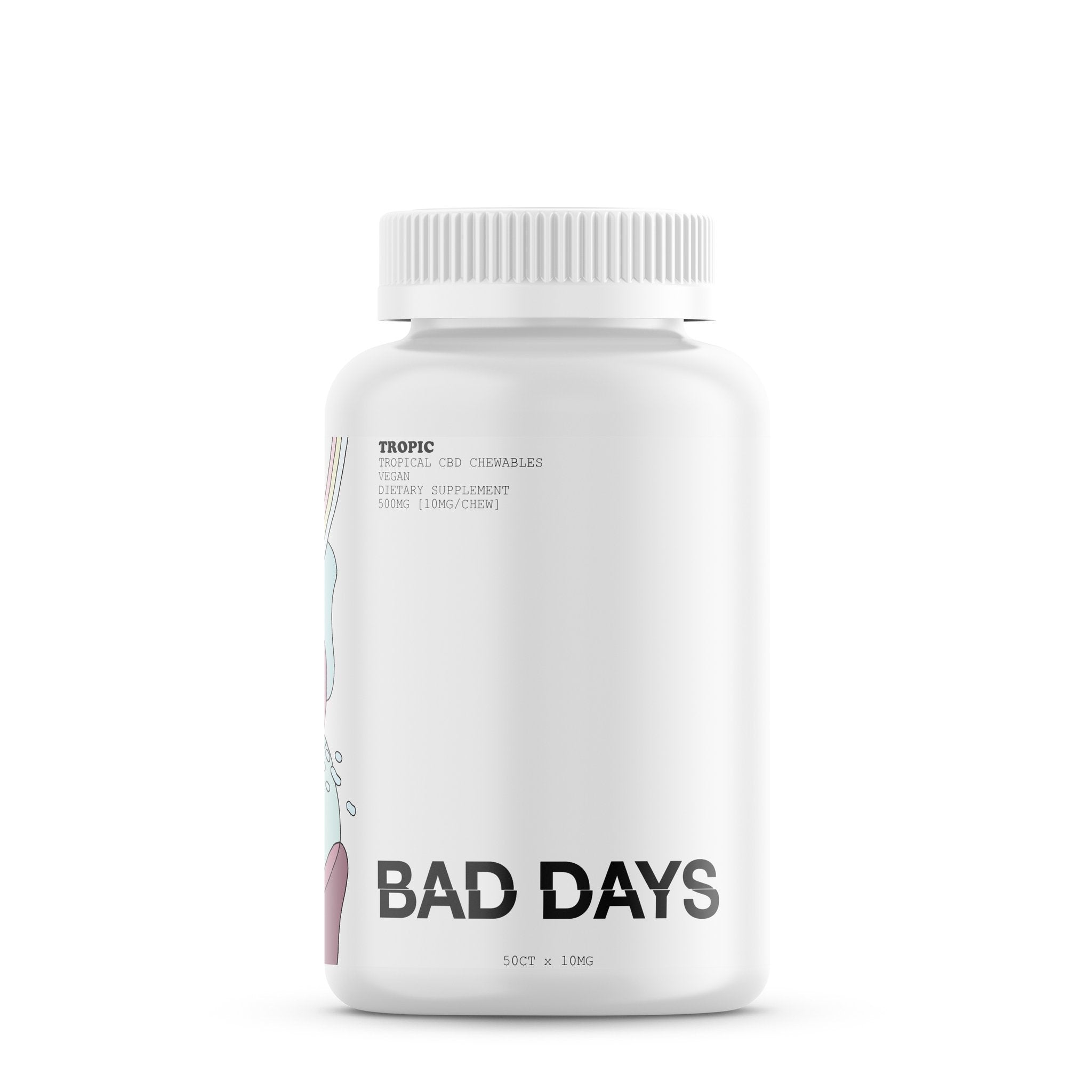 Bad Days Tropic CBD Gummies