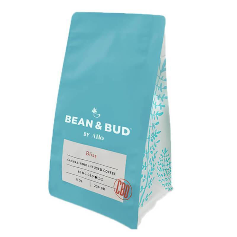 Bean & Bud - CBD Coffee - Bliss - 80mg