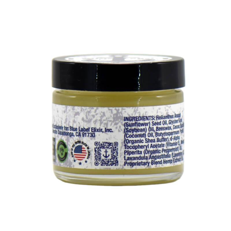 Blue Label CBD - CBD Topical - Hand and Body Salve - 500mg