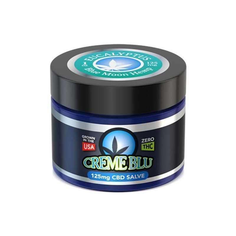 Blue Moon Hemp - CBD Topical - Eucalyptus Salve - 1oz