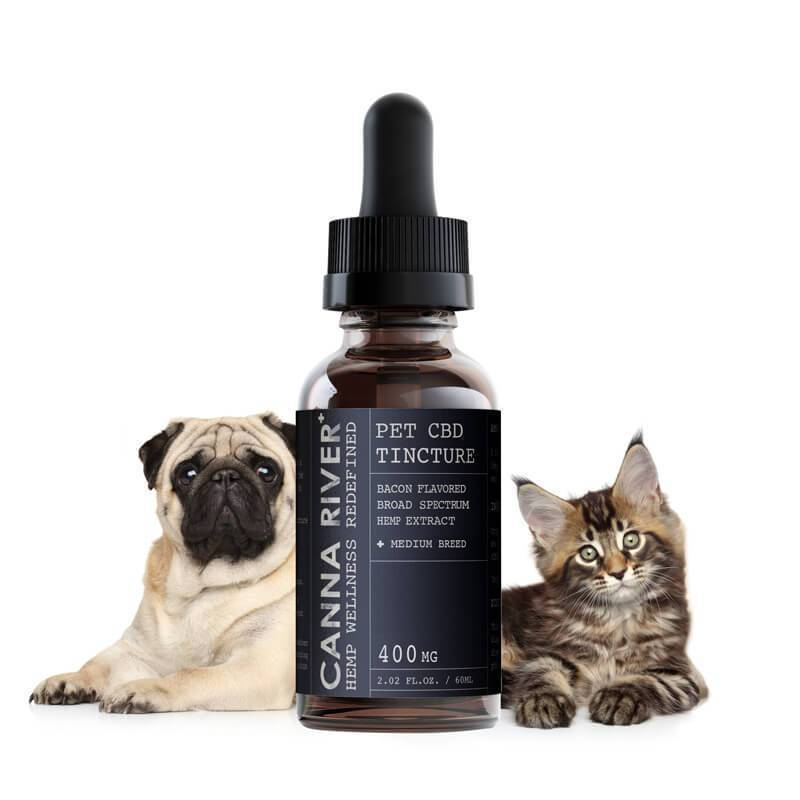 Canna River - CBD Pet Tincture - Broad Spectrum Bacon - 200mg-600mg
