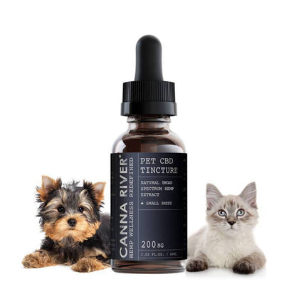 Canna River - CBD Pet Tincture - Broad Spectrum Natural - 200mg-600mg-buy-CBD-online