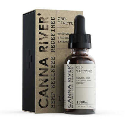 Canna River - CBD Tincture - Broad Spectrum Natural - 1000mg-5000mg-buy-CBD-online