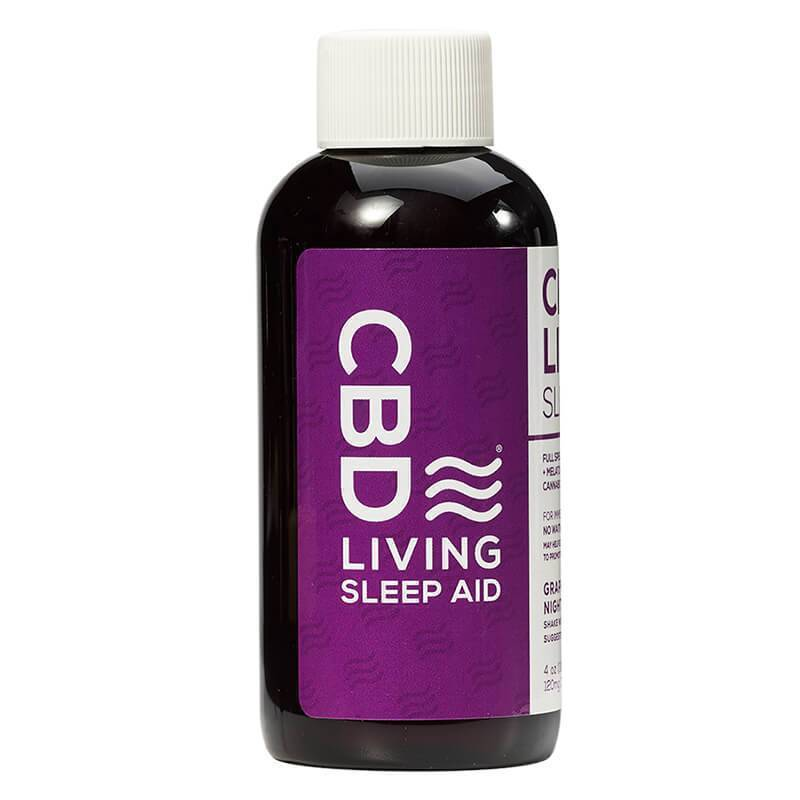 CBD Living - CBD Drink - Grape Syrup Sleep Aid - 120mg