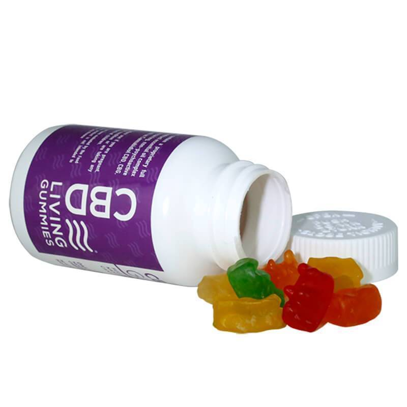 CBD Living - CBD Edible - Living Gummies 30 Count - 300mg