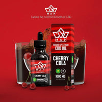 CBD MAN - CBD Oil - Cherry Cola - 1000mg-buy-CBD-online