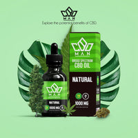 CBD MAN - CBD Oil - Natural - 1000mg-buy-CBD-online