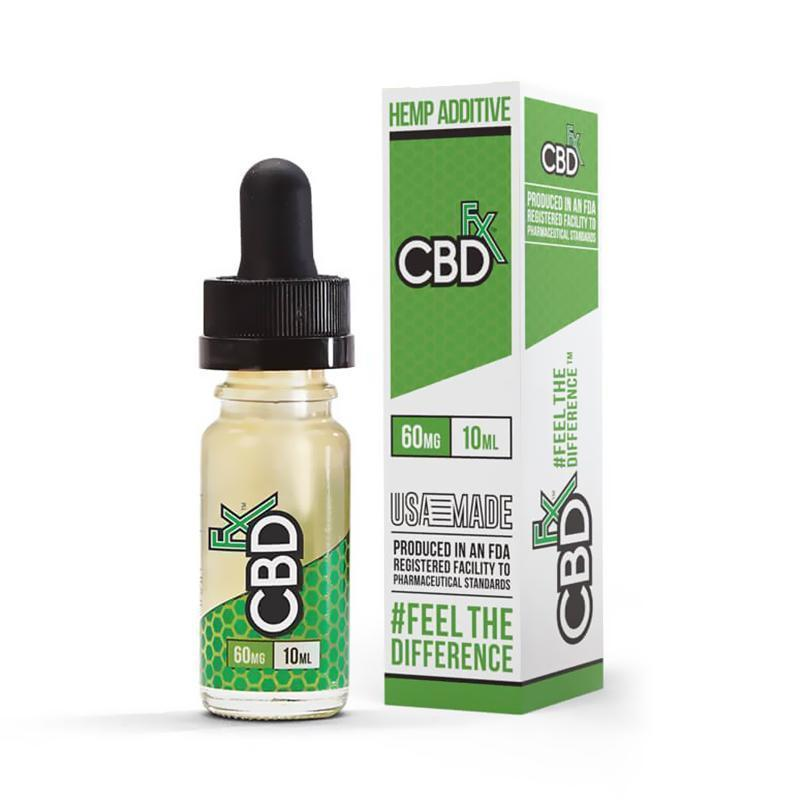 CBDfx - CBD Vape Oil Additive  - 60mg
