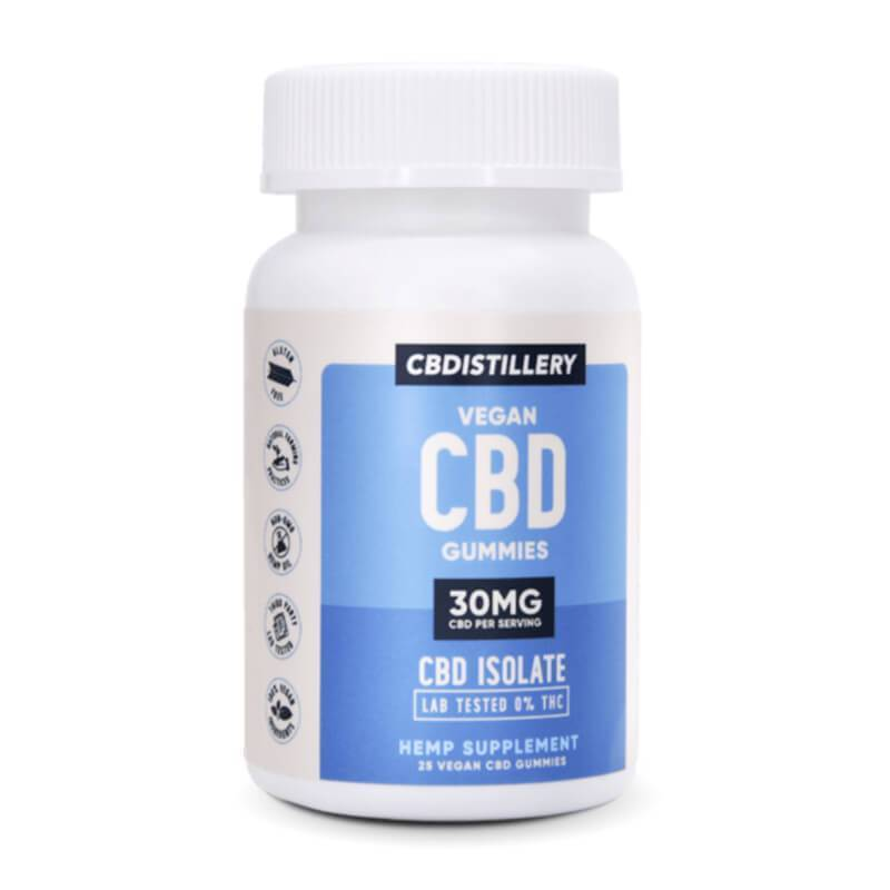 CBDistillery - CBD Edible - Gummies 25 Count - 30mg