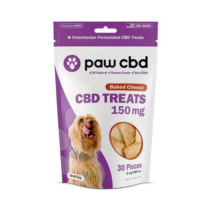 cbdMD - CBD Pet Edible - Baked Cheese Dog Treats - 150mg-600mg-buy-CBD-online