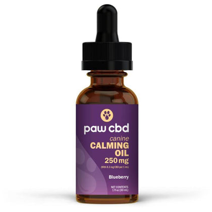cbdMD - CBD Pet Tincture - Blueberry Calming Oil for Canines - 250mg-500mg-buy-CBD-online