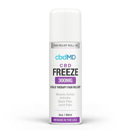 cbdMD - CBD Topical - Freeze Cold Therapy - 300mg-1500mg-buy-CBD-online