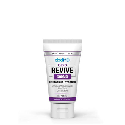 cbdMD - CBD Topical - Revive Moisturizing Lotion - 300mg-1500mg-buy-CBD-online
