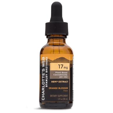 Charlottes Web - CBD Tincture - Full Spectrum Orange Blossom - 17mg/1mL